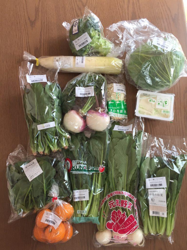 ココノミ 野菜